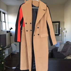 Jackets & Coats - Color block coat